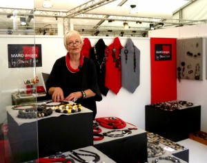 Marie-Rose at the stall -The Gallery Dusseldorf  Summer fair July 2015