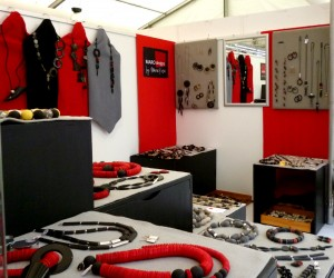 Stall Display at the Gallery Duesseldorf Summer fair July 2015